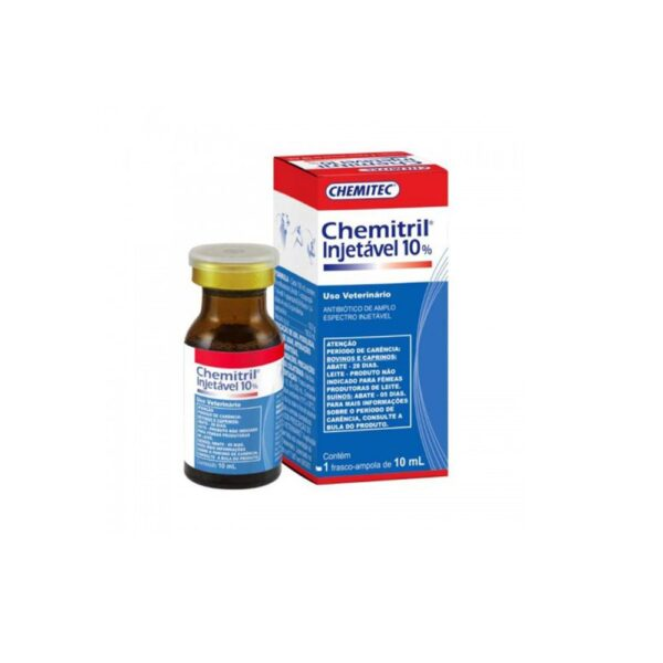 chemitril injetavel 10ml
