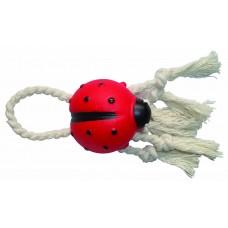joaninha baby vinil com corda