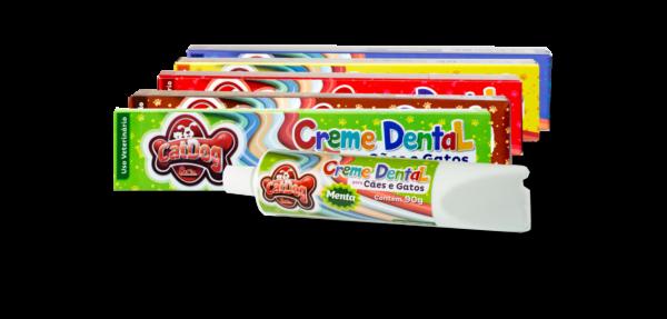 Creme Dental Menta Caixinha - Cod 001.017 - pack